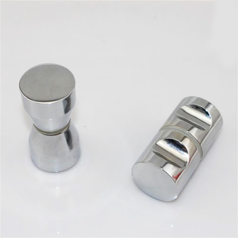 Zinc Alloy Single Hole Door Knob Handles Shower Room Accessories For Interior Furniture Shower Room