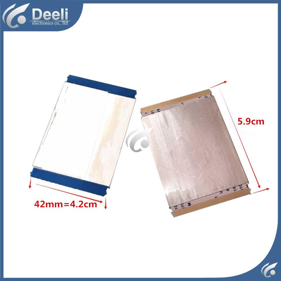 1pcs NEW good Working origina E129545 AWM 20861 105C 60V VW-1 80P 0.5 kotobo e188165 awm 20861 105c 60v vw 1 flexible cable ribbon cable 12pin 0 5mm spacing 158mm long