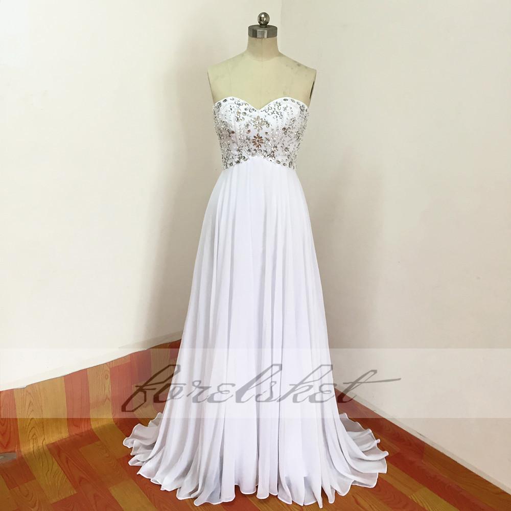 Sexy Chiffon A Line Beach Wedding Dresses Vintage Boho Cheap Bridal Gowns Vestidos De Novia Robe De Mariage Bridal Gown in stock 20