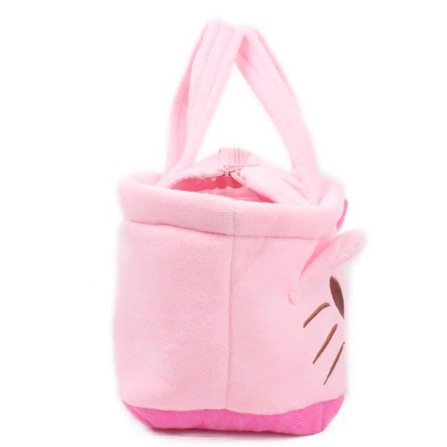 c75cfdc02010 placeholder Cute Kawaii Cartoon Plush Shoulder Bags Cartoon Hello Kitty Shoulder  Bag Women Children Handbag for Kids