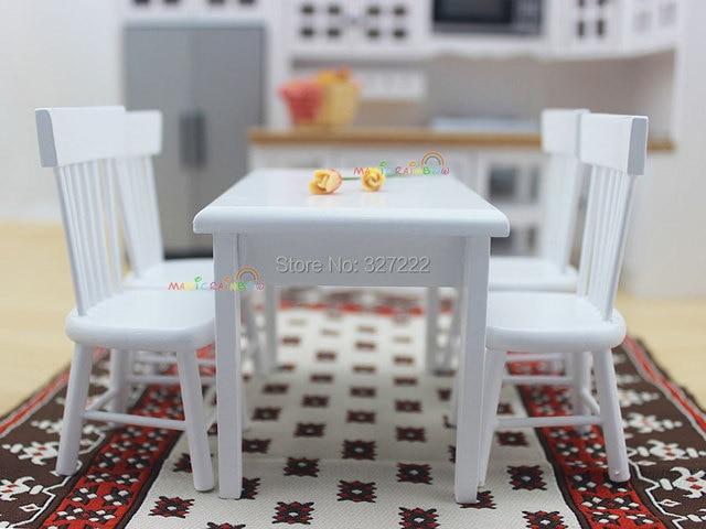 1 12 Básculas Dollhouse miniatura Muebles cocina de madera Juguetes ...