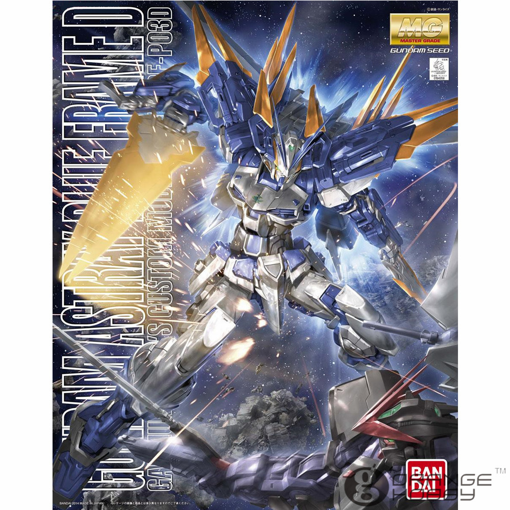 OHS Bandai MG 184 1/100 MBF-P03D Gundam Astray Blue Frame D Mobile Suit Assembly Model Kits ohs bandai mg 185 1 100 ppgn 001 gundam exia dark matter mobile suit assembly model kits