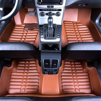 새로운 자동차 바닥 매트 커버 무료 배송 5D BMW 320 323 325 자동차 스타일링