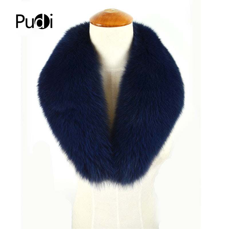 CLF010 Genuine Winter Women Fox Fur   Scarf     Scarves     Wrap   Neck Warmer Shawl Collar
