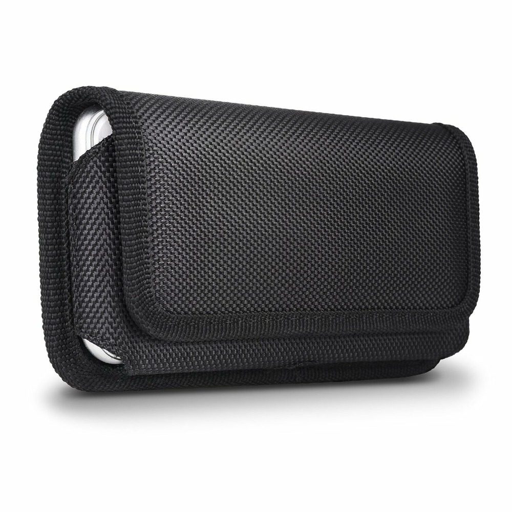 Mobile Phone Waist Bag for Hook Loop Holster Pouch