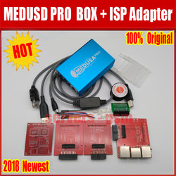 100% ORIGINAL Medusa PRO Box Medusa Box + ISP 3 in adapter+ JTAG Clip MMC For LG For Samsung For Huawei with Optimus cable