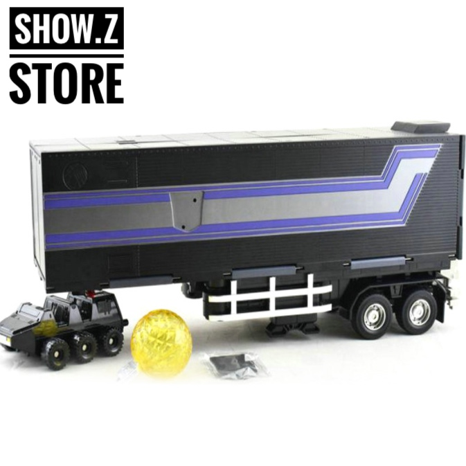 [Show.Z Store] WeiJiang MPP10B OP Trailer Oversized Black Version Action Figure Transformation weijiang deformation mpp10 e mpp10 eva purple alloy diecast oversized metal part transformation robot g1 figure model in box