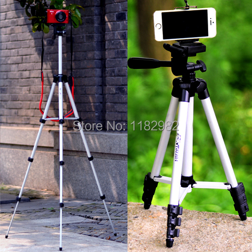 2in1 1 set WEIFENG WT3110A 3 Way Camera Tripod Bag Phone holder For Canon For Nikon