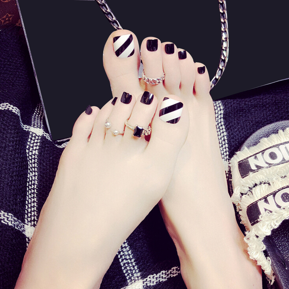 Online Shop for Popular black toes nails from Aufkleber Decals