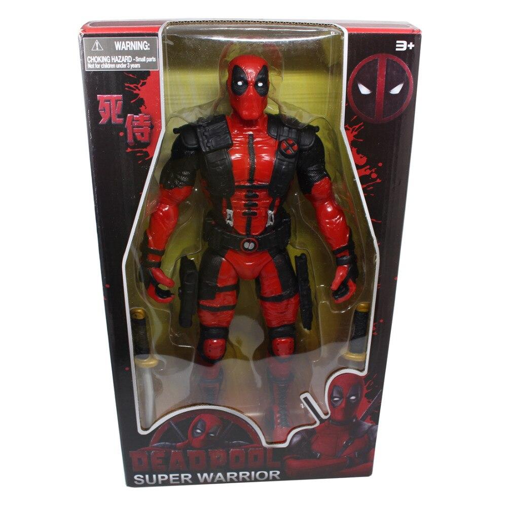 где купить Deadpool Super Warrior 36CM 1 pcs/set Boxed Figure Toy по лучшей цене