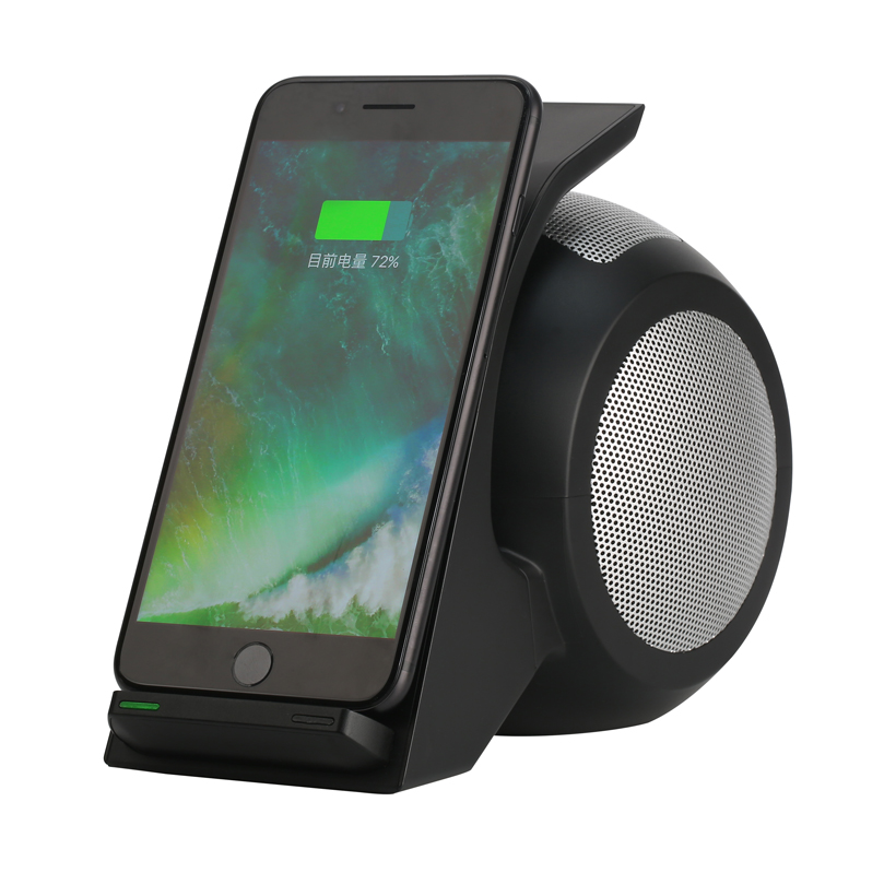 Fast wireless charger QI intelligent connection standard general comprehensi wear-resisting antiskid NFC 4.0 bluetooth speakers vina ups 001 intelligent 4 port usb 2 0 fast charger