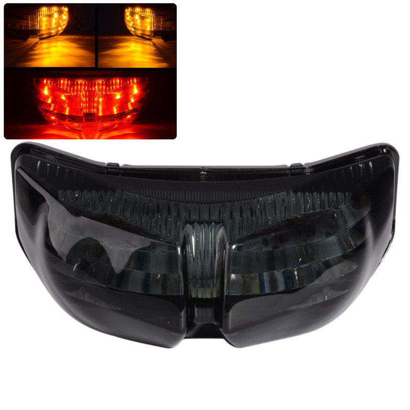 Ծխի ինտեգրված LED հետևի շրջադարձային ազդանշանի լույսի բարձրորակ ABS LED պոչի լույս Yamaha FZ8 Fazer 10-13 FZ1 N FZ1 Fazer 06-13