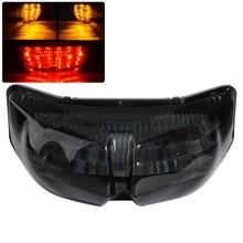 Smoke Integrated LED Rear Turn Signal Light High Quality ABS LED Tail Light For Yamaha FZ8 Fazer 10-13 FZ1 N FZ1 Fazer 06-13