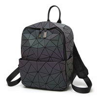 New Laser Unisex Luminous Backpack For Student Dazzle Color Fashion Small Travel Bag School Backpack Fashion