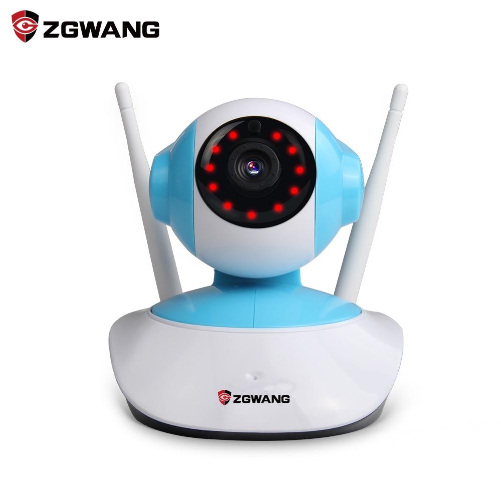 ZGWANG 720P Mini IP Camera WiFi Wireless Surveillance