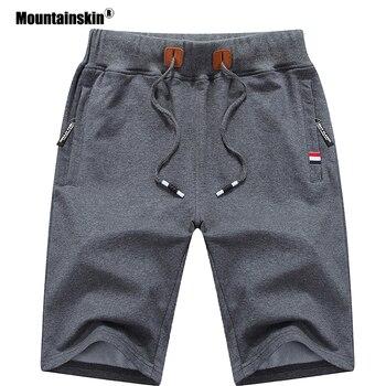 Mountainskin 2019 Solid Men's Shorts regular and plus sizes