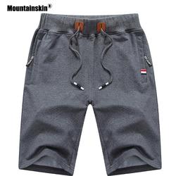 Mountainskin 2019 Solide herren Shorts 6XL Sommer Mens Strand Shorts Baumwolle Beiläufige Männliche Shorts homme Marke Kleidung SA210