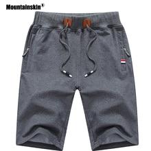 Mountainskin 2020 Solid Men's Shorts 6XL Summer Men