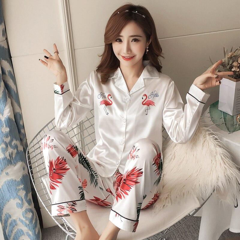 2019 Summer Womens   Pajamas   Comfortable Cute   Pajama     Set   Girl Print Pyjama   Set   Short Sleeve Sleepwear Suit Women Nightshirt   Sets