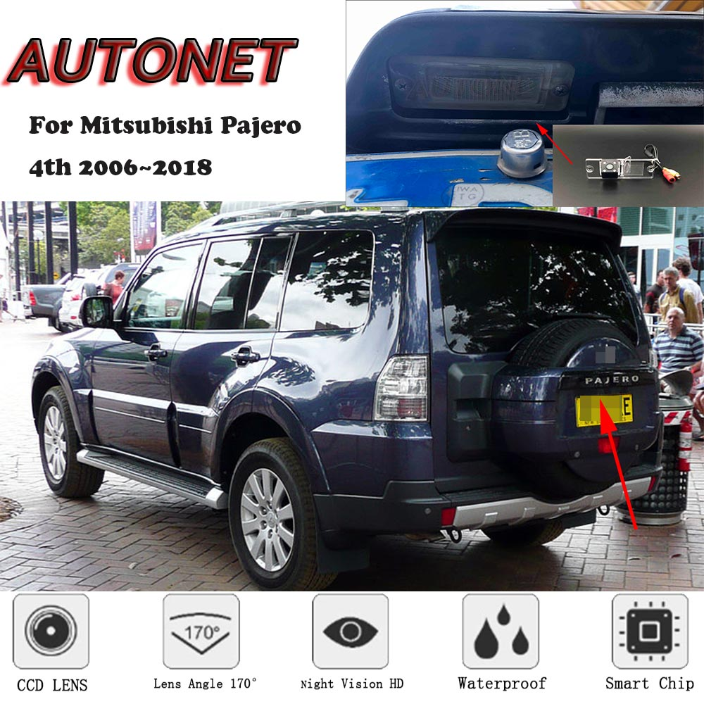 AUTONET Rear-View-Camera Pajero Night-Vision/parking-Camera Mitsubishi for 4th title=