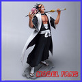 MODEL FANS IN-STOCK 25cm ad BLEACH Kenpachi Zaraki and Kusajishi Yachiru GK resin made for Collection Handicrafts
