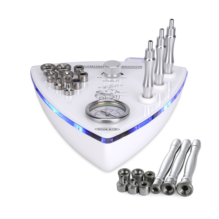 3 In 1 Best Multifunctional Diamond Microdermabrasion Machine With Ultrasonic Skin Scrubber