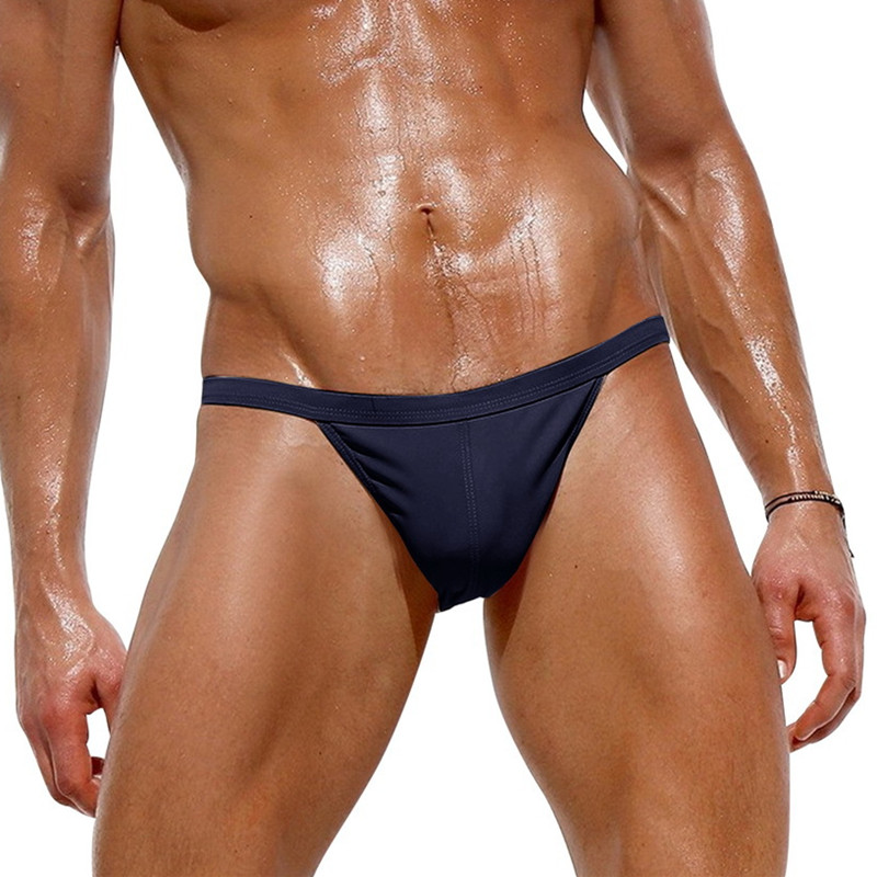 Swimwear Sexy Swimsuits Shorts Men Bikini Trunks Surf-Board Brand Briefs Gay-Pouch