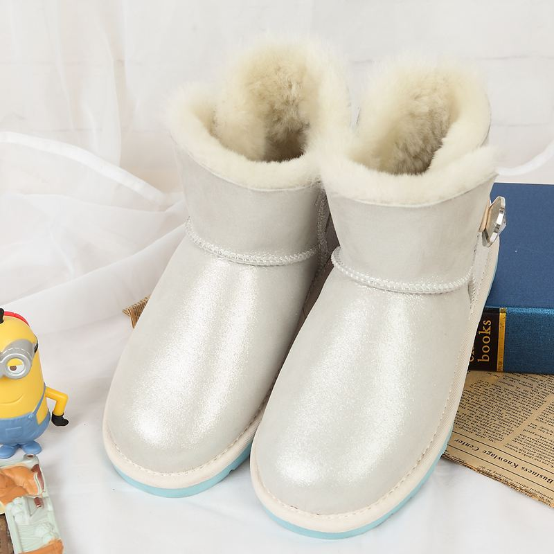 High quality Snow Boots Australia 100 pure natural sheep fur snow boots boots casual fashion casual