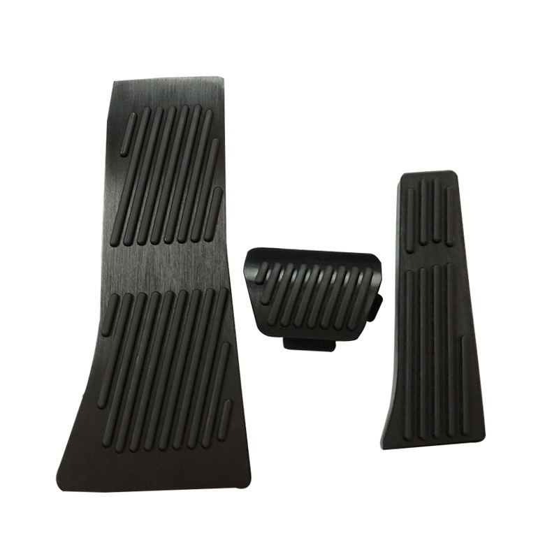 Couvercle antidérapant de la pédale de repose-pied de frein d'accélérateur de voiture pour BMW X5 X6 Series E70 E71 E72 F15 AT/MT avec logo M