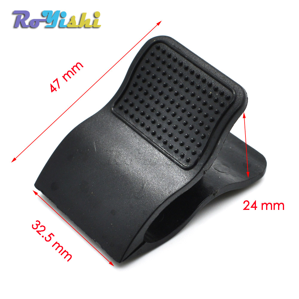 Black Plastic Spring Binder Clip For Paper Document Note Stationery Accessories