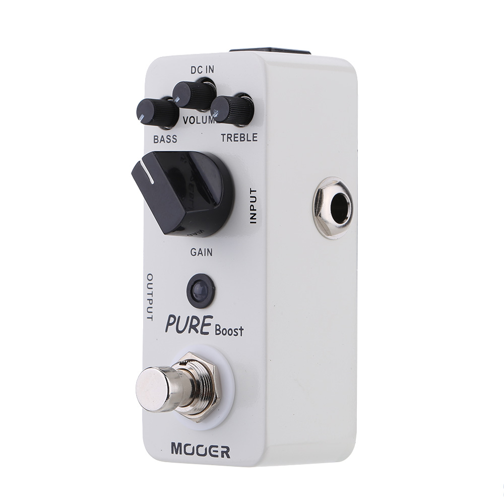 Mooer Pure Boost Micro Mini Boost Effect Pedal for Electric Guitar True Bypass