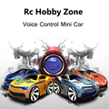 Mini 4 canales rc coche con control de voz smart watch cars on the radio control remoto rc toys para niños 663