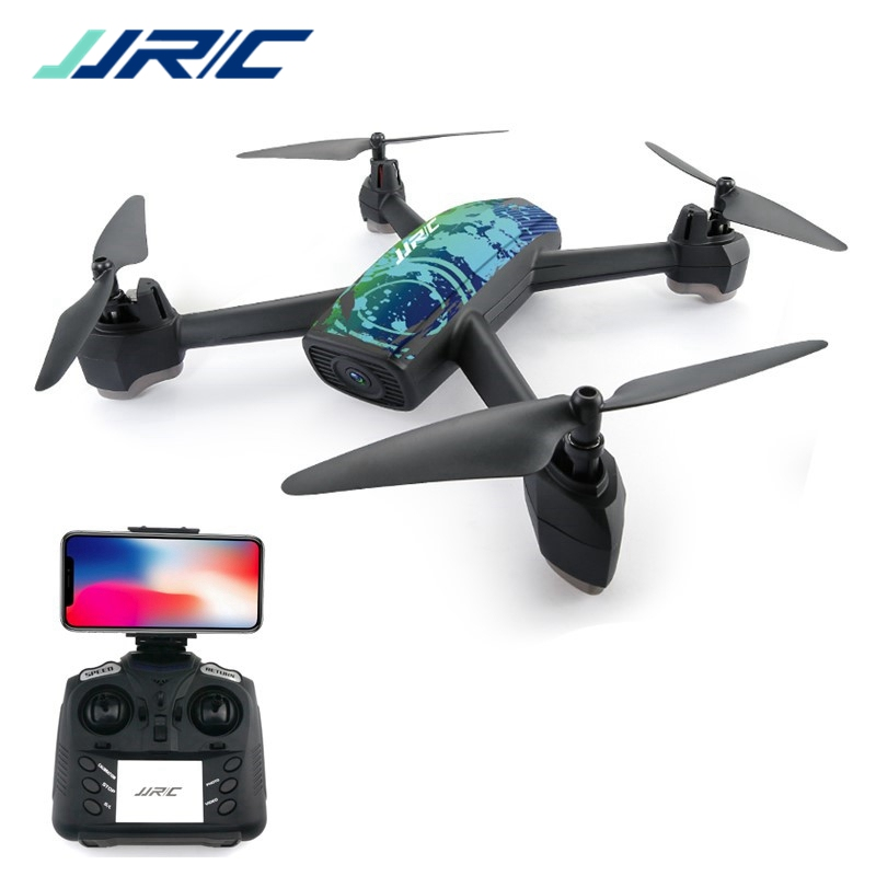 JJRC H55 TRACKER WIFI FPV RC Drone Quadcopter With 720P HD Camera GPS Positioning Camouflage RTF original mjx bugs 2 b2w brushless rc drone rtf 5ghz wifi fpv 1080p full hd gps positioning 2 4ghz 4ch dual way transmitter