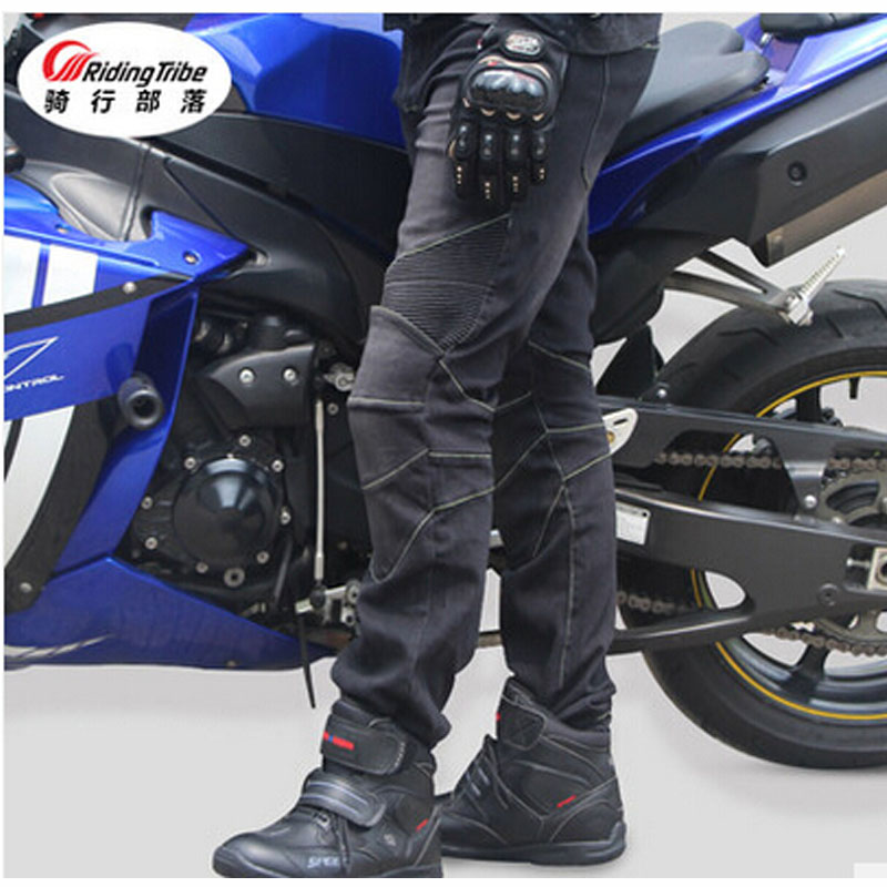 Riding Tribe Motorcycles Pants Men and women Dismounted Rides & Races Jeans Spring & Summer Four Seas Cross Country Racing Pants