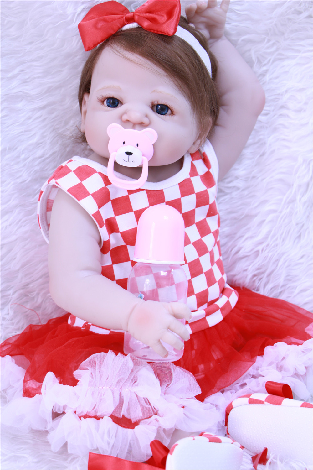 Baby reborn girl toy dolls NPK full body silicone reborn baby dolls  23 new born babies princess dolls  bonecas Baby reborn girl toy dolls NPK full body silicone reborn baby dolls  23 new born babies princess dolls  bonecas