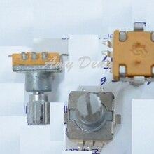 20 шт./лот EC11 Стандартный чип кодером с выключателем 30 posioning 15 импульса Длина голенища 13 мм