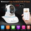 Vstarcam c7825wip cctv 720 p inalámbrica wifi cámara de red ip onvif seguridad de la vigilancia de la ayuda 64g sd card envío libre tarjeta de 8 gb