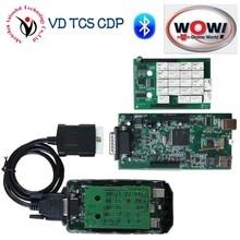 NUEVO Diseño A + Real 5.008R2 + 5.00.12 WOW Snooper Keygen CDP Bluetooth Con Cubierta Del Cuerpo completo VD TCS CDP Favorable para los coches OBD2 y camiones