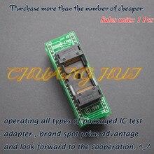 цена на IS0008-TT48 Programmer adapter TSOP48 socket flash test socket TSOP48/D48 adapter