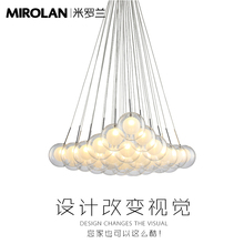 DEEVOLPO modern led glass bubble pendant light dining-room bedroom vertigo  sc 1 st  AliExpress.com & Buy vertigo and get free shipping on AliExpress.com
