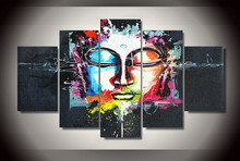 Framed Printed Buddha Painting on canvas room decoration print poster picture canvas Free shipping/jj2681