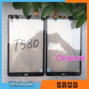 Image 1 - Nouveau T580 écran tactile pour Samsung Galaxy Tab A 10.1 SM T585 T580 écran tactile panneau numériseur capteur LCD affichage avant en verre