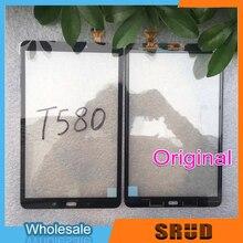 Nuovo T580 Dello Schermo di Tocco Per Samsung Galaxy Tab 10.1 SM T585 T580 Pannello Touch Screen Digitizer Sensore di Display LCD Frontale di vetro