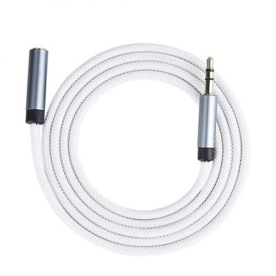 Banfacery good quality fashion 3 5mm aux audio cable for computers cars phones and speakers white
