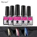 Cat Eye Top coat 7.3ml*1pcs Magic Mirror Chameleon Color Change 6Color UV LED Gel Soak Off Cat Eyes Finish Gel Polish Magnetic Z