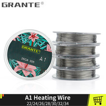 Grante Alien Clapton Heating Wire For RDA RBA Rebuilt Atomizer Heating Wire Coil Vape Tank 10m/roll(China)