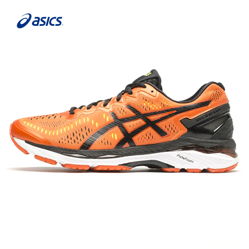 Original ASICS Men Shoes GEL-KAYANO 23 Breathable Cushioning Running Shoes Sports Shoes Hard-wearing Sneakers Outdoor Walking