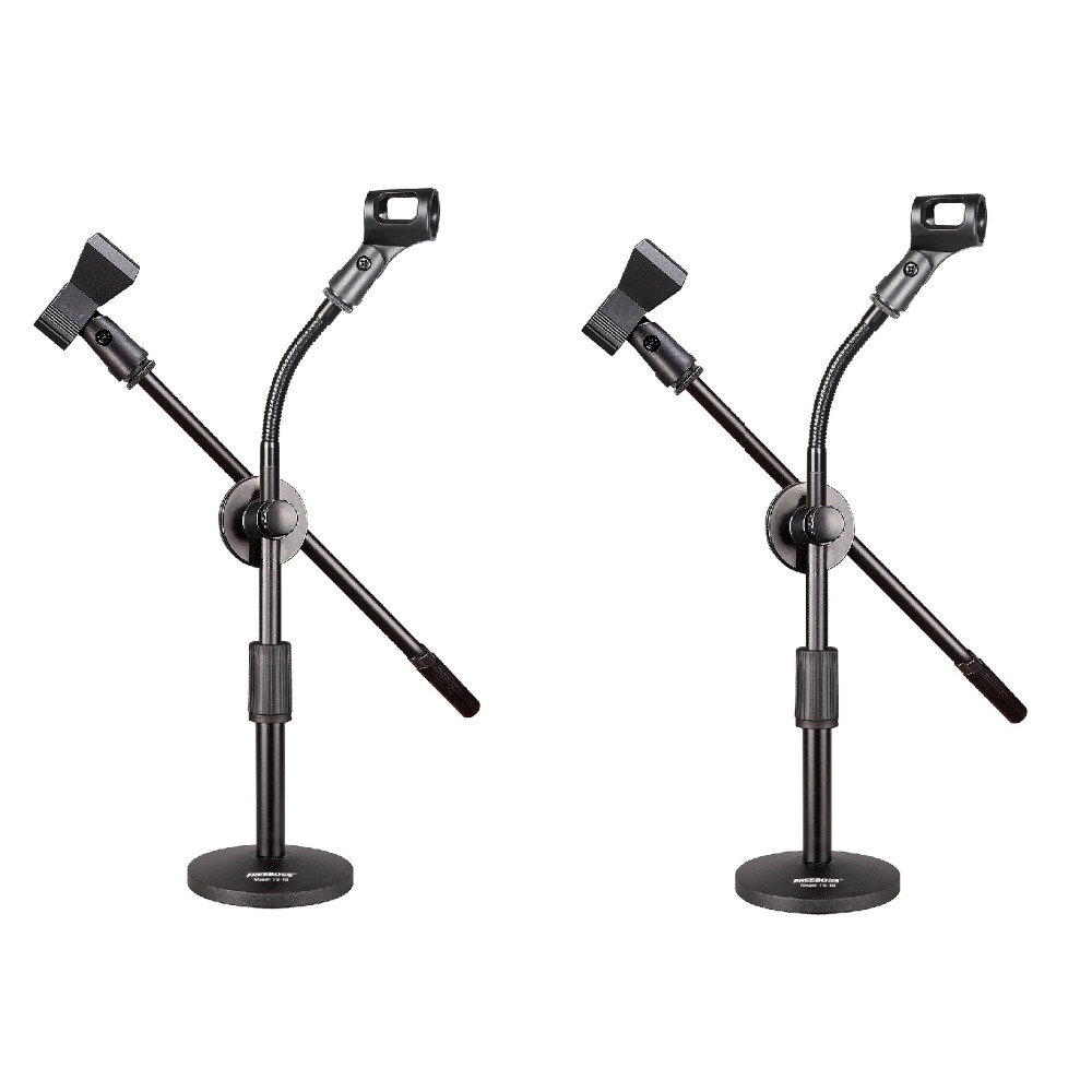 Freeboss TS 10 Mini Table Microphone Stand Set-in