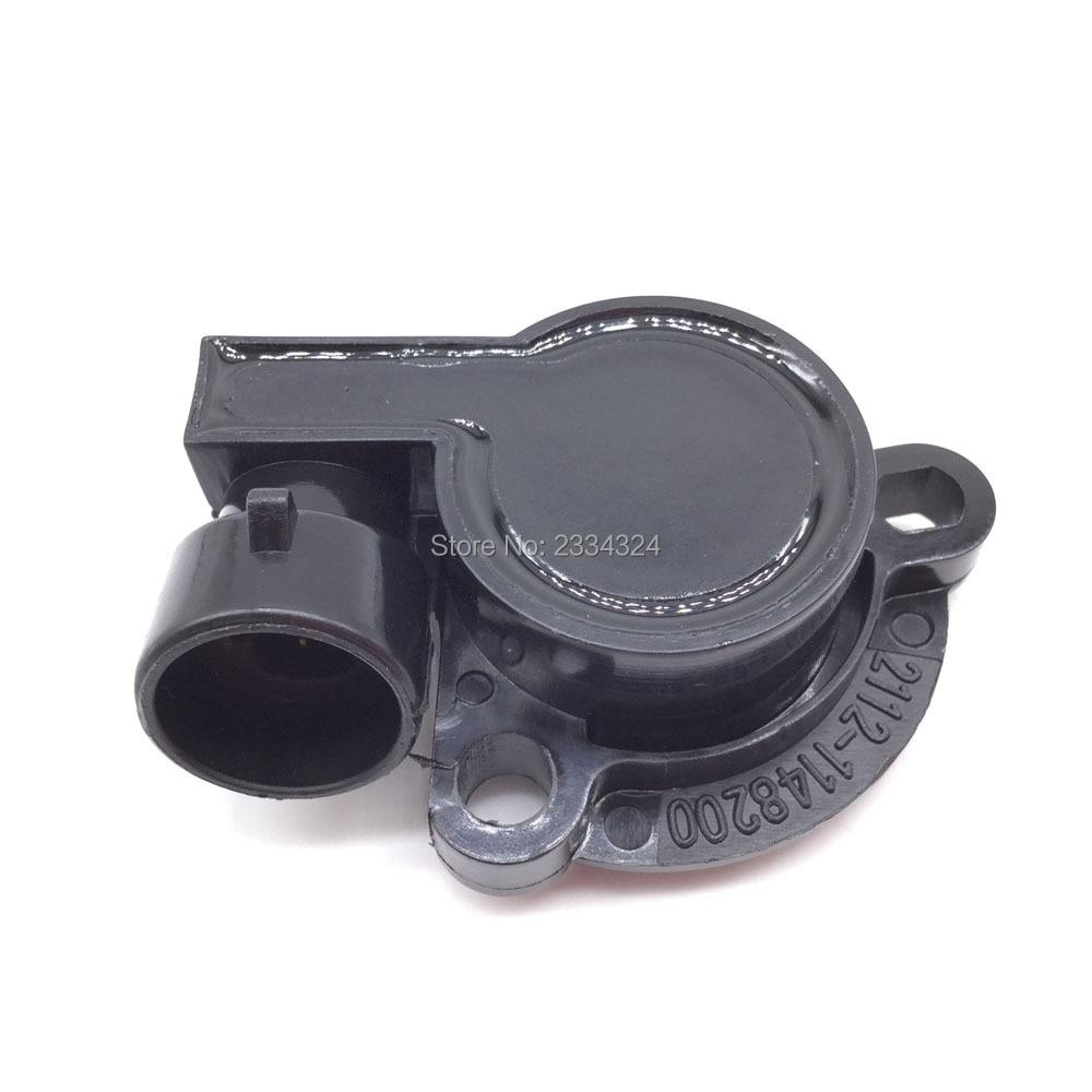 LADA Niva Samara Forma üçün Throttle Mövqe Sensor TPS 110 111 112 393855,2112-1148-200,21121148200,550485HQ, 550485B