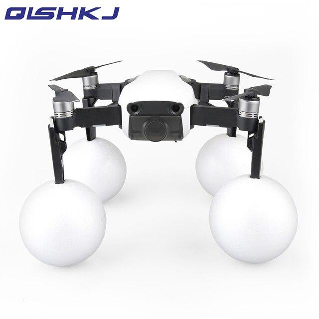 4pcs Heightened Landing Gear Legs + 4pcs Floating Buoyancy Foam Ball On The Water landing For DJI mavic air Drone Accessories